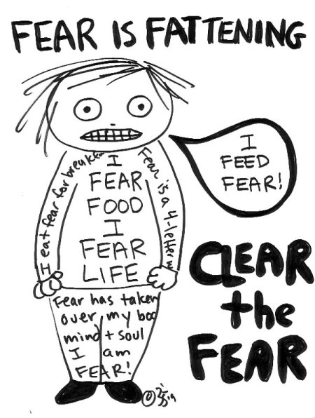 CLEAR THE FEAR & Lose Weight!